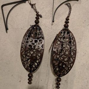 Hanging Metal Lanterns